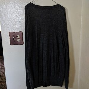 Sonoma Sweaters - Sonoma Grey Button Up Cardigan Large Tall